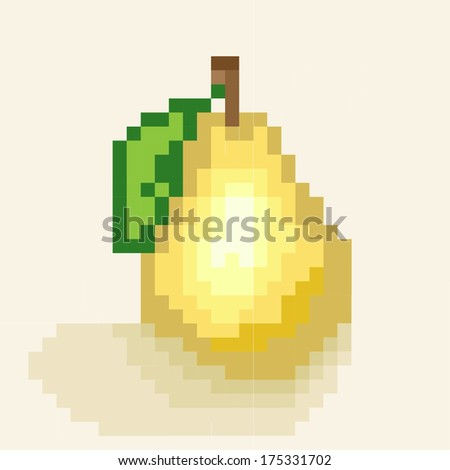 Vector Images Illustrations And Cliparts Pear Vector