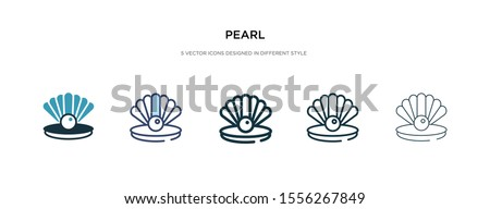 pearl icon in different style