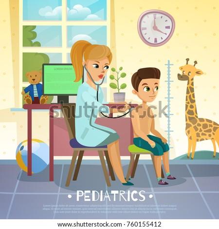 pediatric department in
