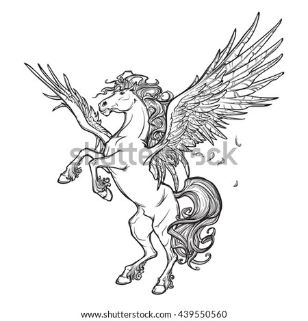 pegasus greek mythological