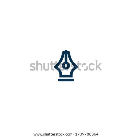pen   pictograph   line icon