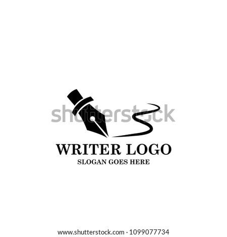 pen - writer logo template