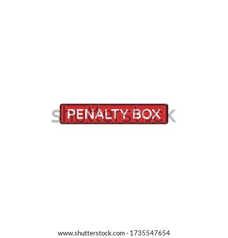Penalty Box wordmark logo design