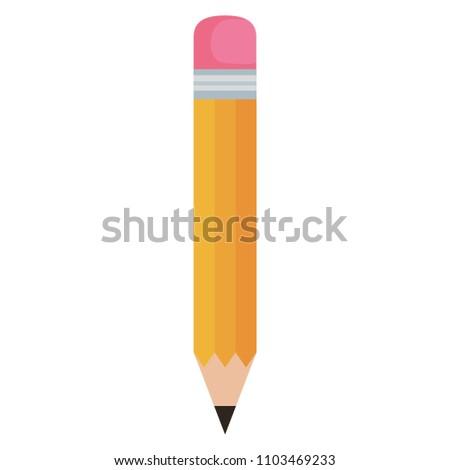 pencil graphite isolated icon