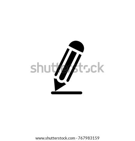 pencil icon logo