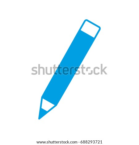 pencil utensil icon #688293721