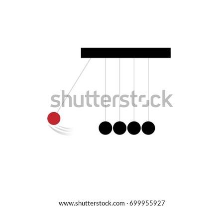 pendulum icon   illustration