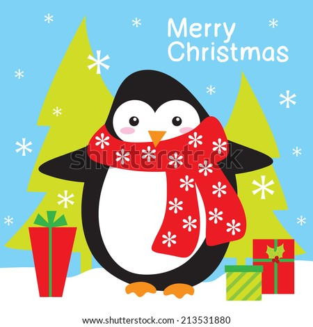 penguin and christmas