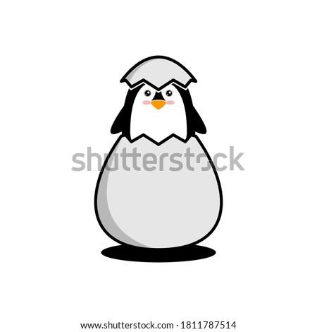 penguin logo illustration  good