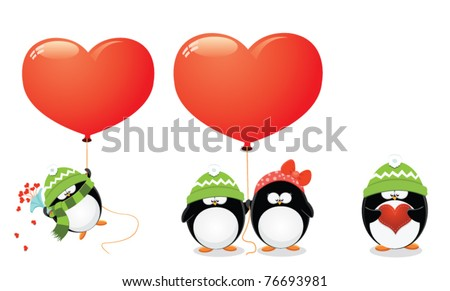Penguin Love Set