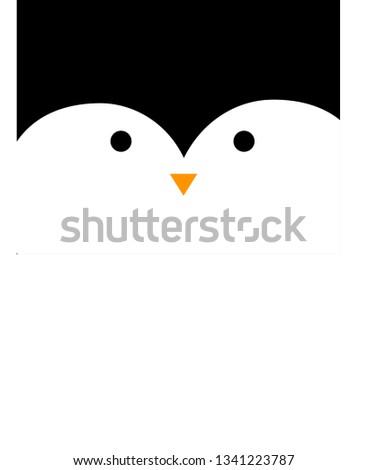penguin snout pattern