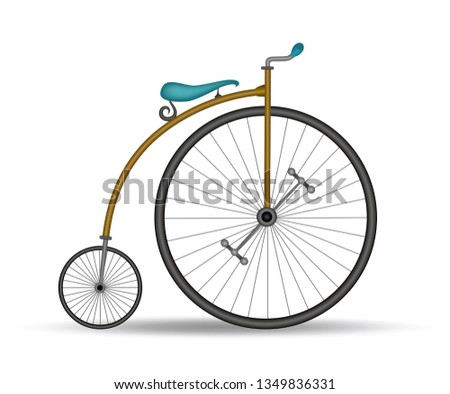 penny farthing bicycle   french