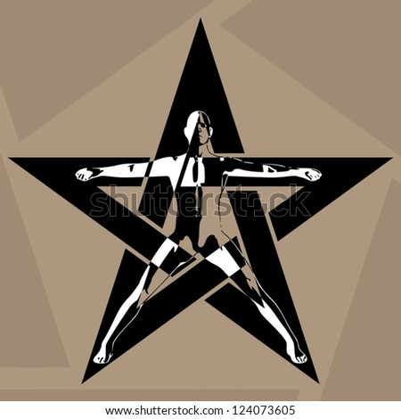 pentagram the man in the