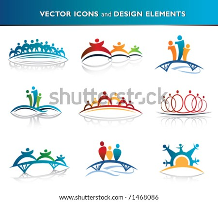 People and community icon pack