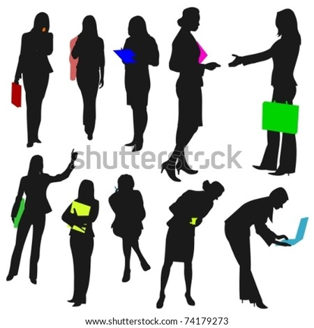 People - Business Women No.2. - stock vector