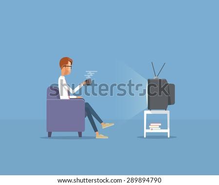 people businessman  watching