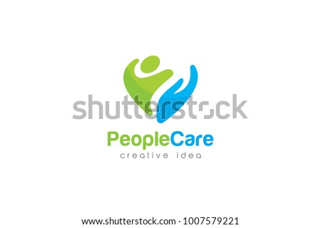 People Care Logo and Icon Template