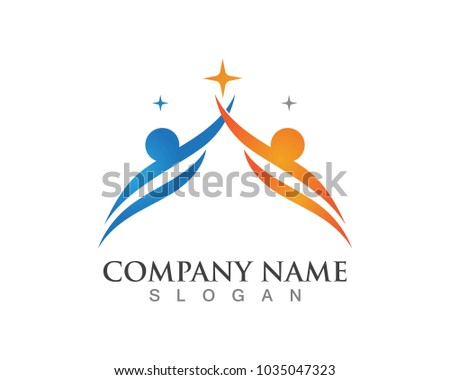 people care success health life logos