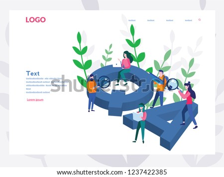 People catching bugs, quality assurance stickers, team work,  Big QA letters. Online testing, IT software application testing. Vector illustration. Programming and coding, Software API prototyping.
