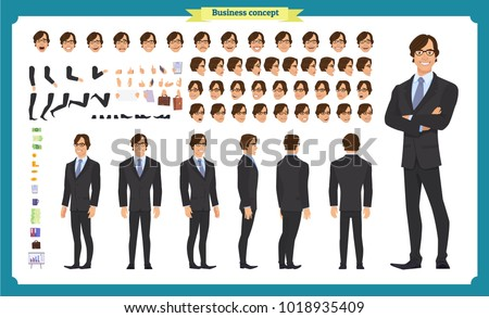 people character business set