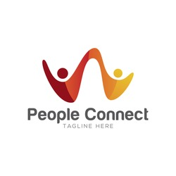 People connect logo
