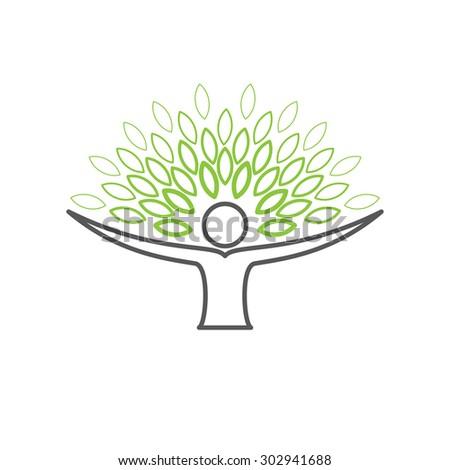 people embracing tree   eco