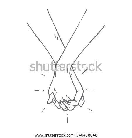 people holding hands concept
