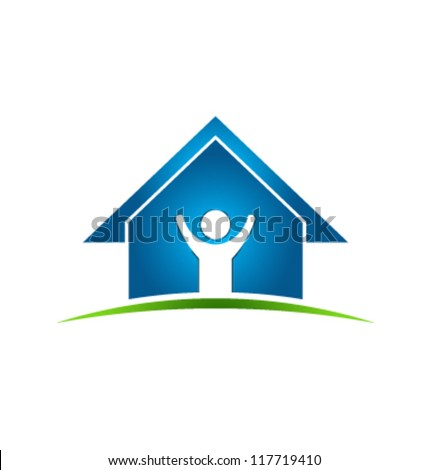 People House Icon. Vector design