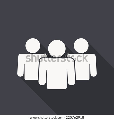 people icon , flat design