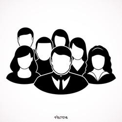 People Icon - Men & Women Vector