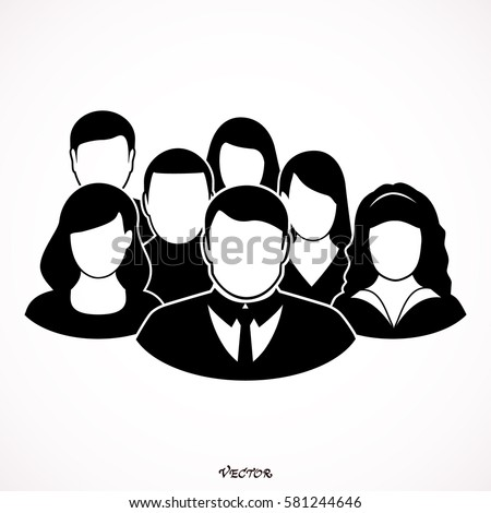 People Icon - Men & Women Vector