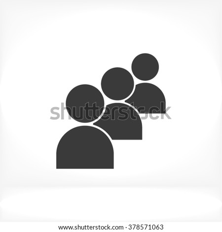 people icon  people icon flat