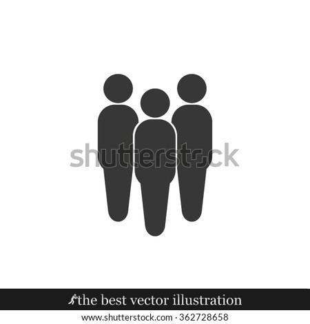 people icon  people pictograph