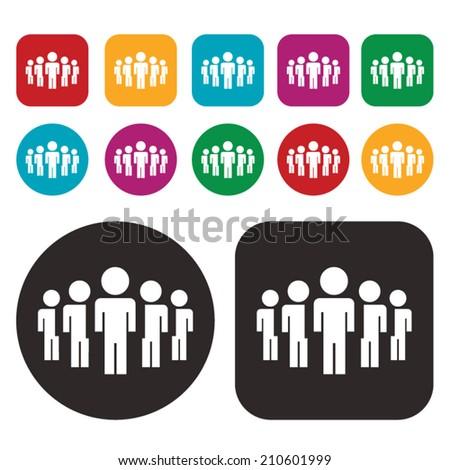 people icon / social icon