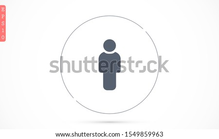 People Icon vector  museums set in trendy flat style isolated on background. People Icon vector  museums Crowd signs. Persons symbol for your infographics website design, People Icon vector  museums