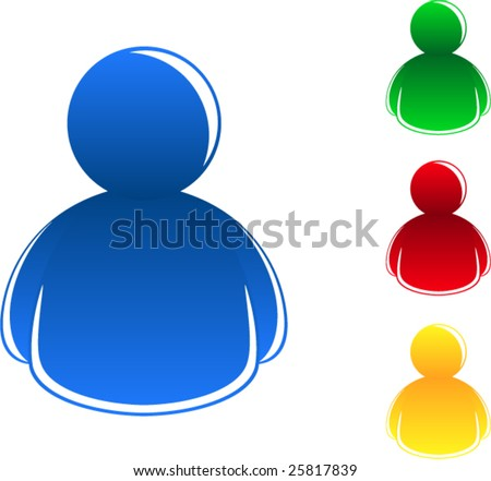 People Icons vector illustration