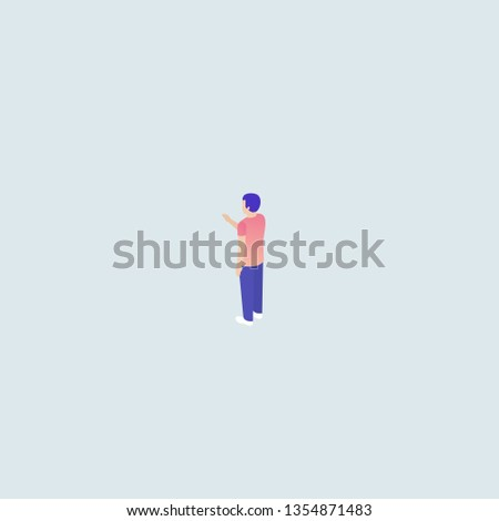 People illustrations vector. Digital devices using. Using phone. Using tablet. Using hands.