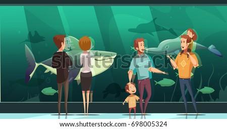 people in aquarium design