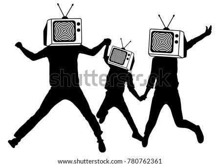 people instead of head tv