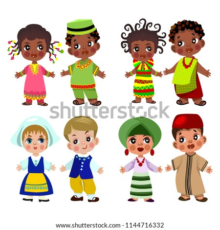 Cartoon  Vector  Funny Chinese people… Stock Photo 334981193
