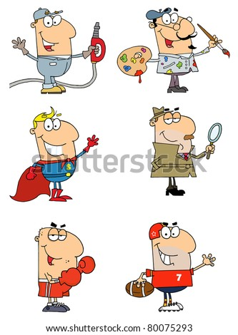 People Of Different Professions-Vector  Collection 2