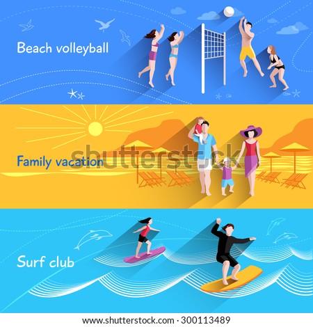 people on beach horizontal