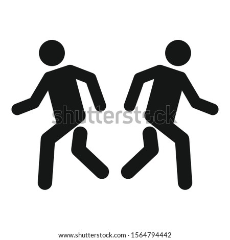 People opportunity icon. Simple illustration of people opportunity vector icon for web design isolated on white background