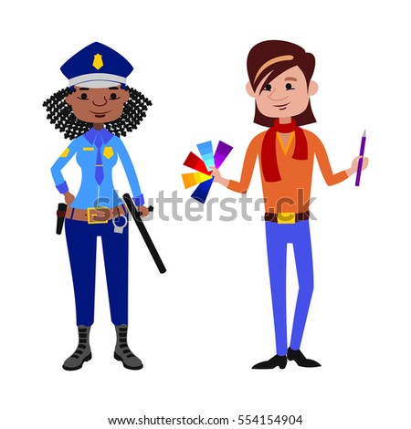people police officer and