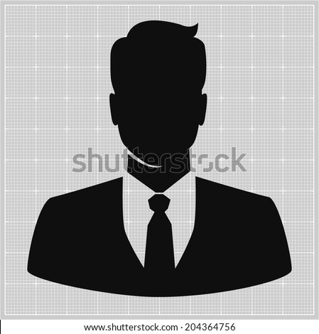 People profile silhouettes. vector illustration