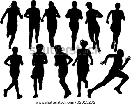 Free Running Clipart. A+person+running+clipart