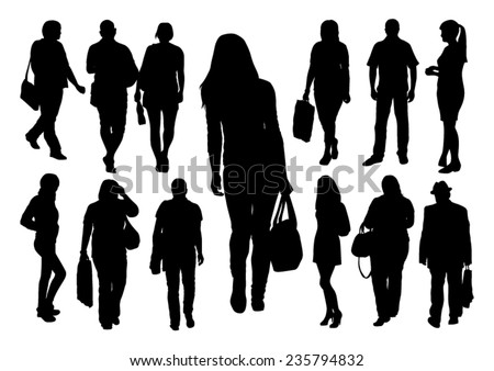 stock-vector-people-silhouettes-set