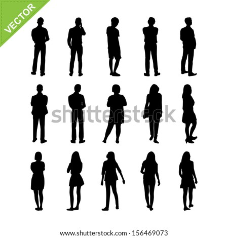 stock-vector-people-silhouettes-vector