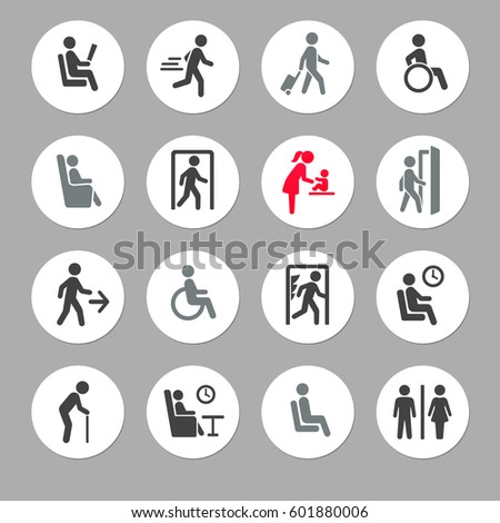 people symbols and signs