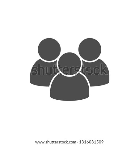 People talking icon. One of set web icons - Vector